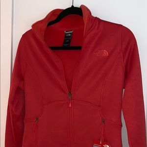 Melon Red Northface Jacket